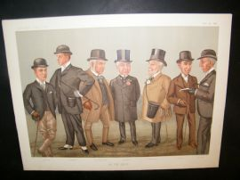 Vanity Fair Double Print 1896 On the Heath
